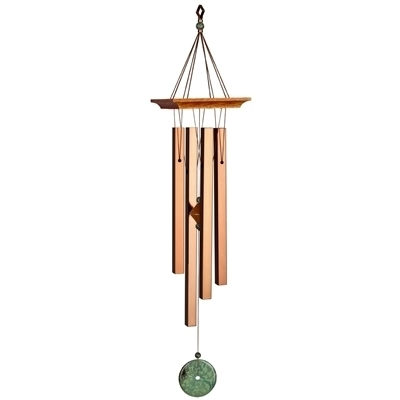 Turquoise Wind Chime Medium