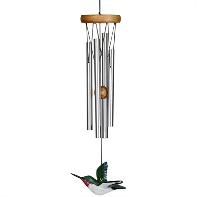Ruby Throat Hummingbird Wind Chime