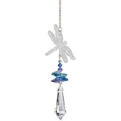 Crystal Fantasy Suncatcher Dragonfly