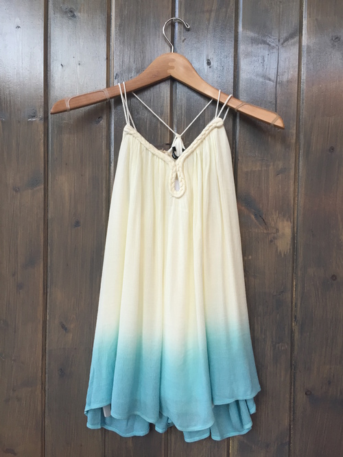 Ombre Tank With Tassle