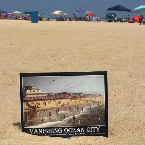 Vanishing Ocean City Book