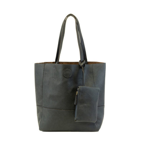 Raw Edge Tote Handbag