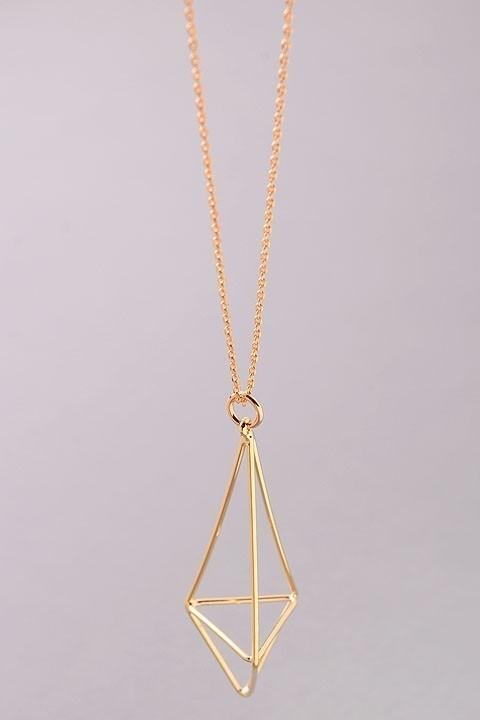Terrarium long necklace