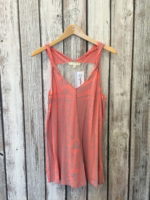 Twisted Woven Tank