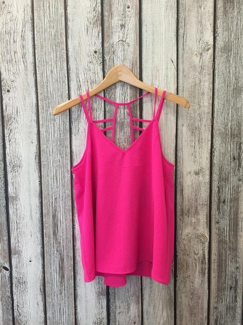 Hot Pink Summer Tank