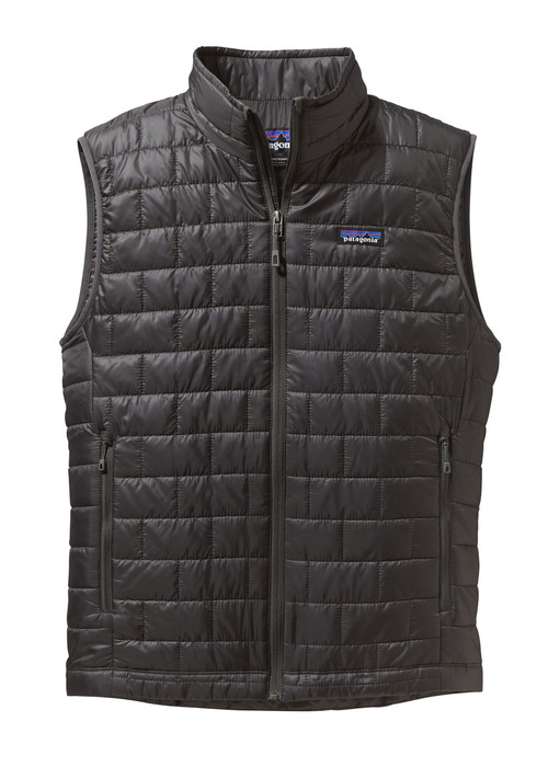 Patagonia M Nano Puff Vest Forge Grey