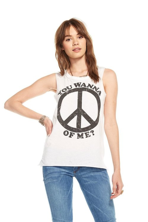 Peace of Me Muscle Tee
