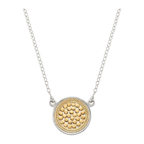 "Anna Beck Gili 1/2"" Reverse Disk Necklace"