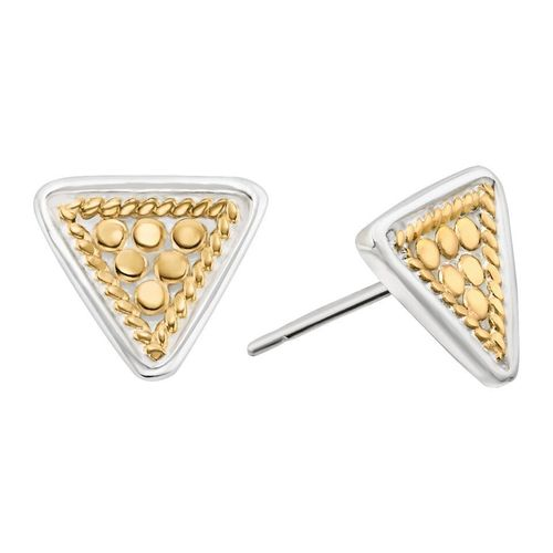 Anna Beck Gold Mini Triangle Stud