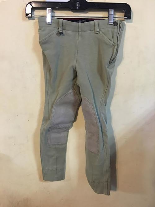 Consignment On Course Side Zip Breeches