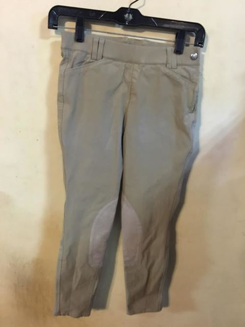 Consignment Ariat Kid's Side Zip Breeches