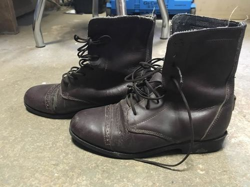 Consignment Kids Lace Paddock Boot