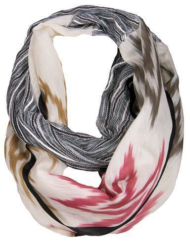 Ikat Blended Infinity Scarf