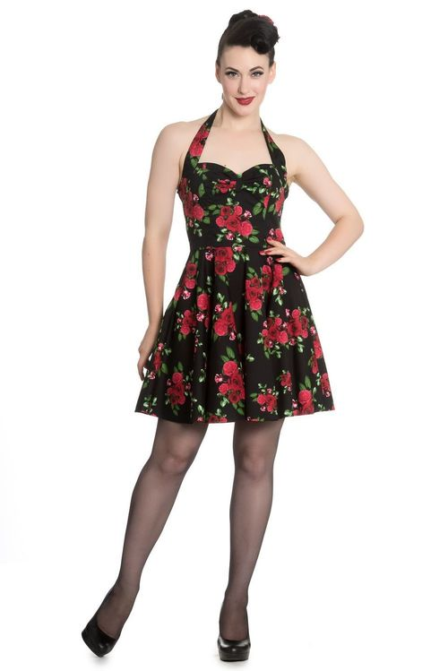 Hell Bunny Annabelle mini floral dress
