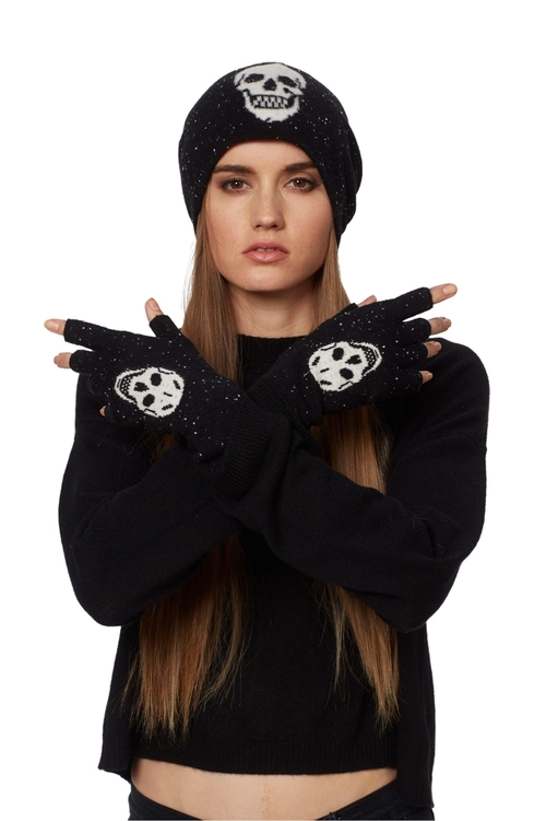 Skull Cashmere Glove