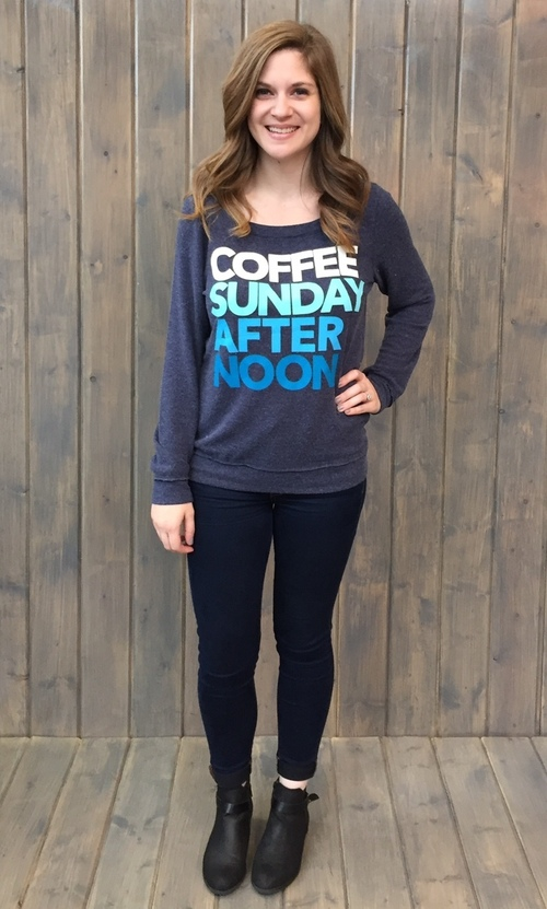 Coffee Sunday Pullover