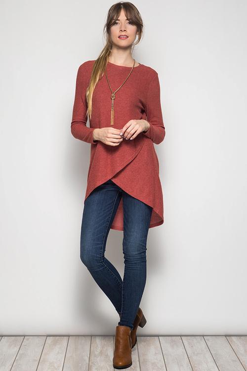Ellie sweater tunic
