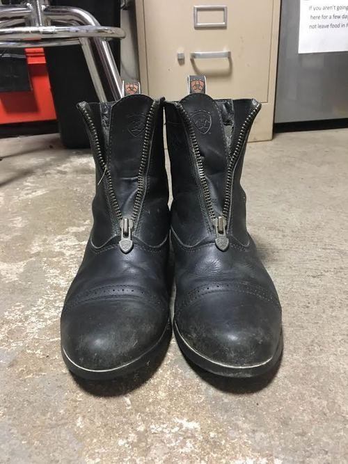 Consignment Zip Paddock Boots