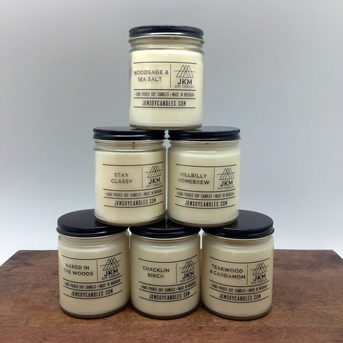 JKM Soy Candle