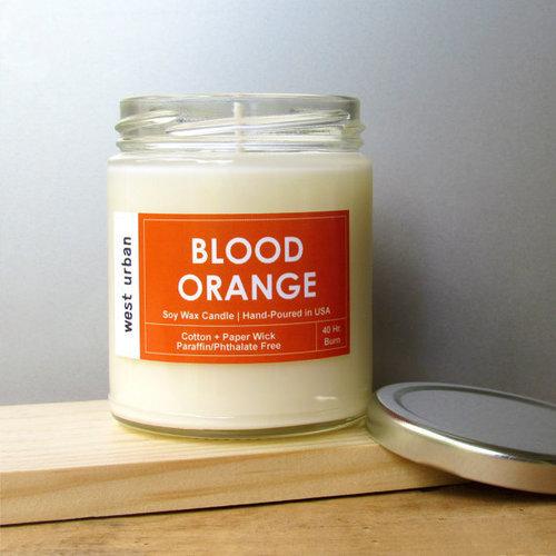Blood Orange Urban Candle