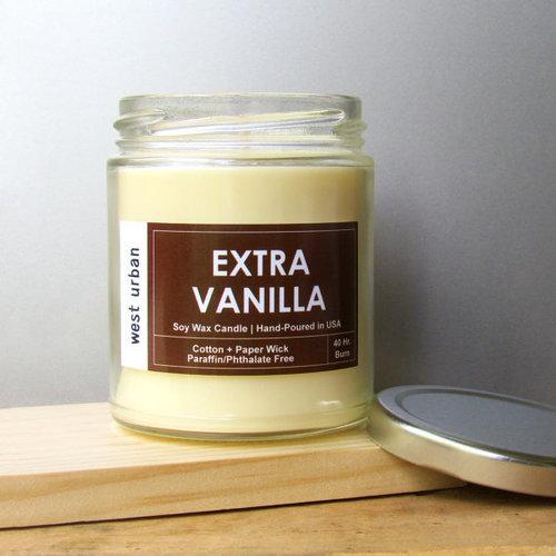 Extra Vanilla Urban Candle