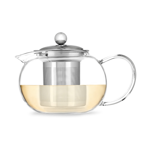 Pinky Up Glass Teapot & Infuser