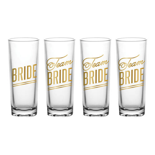 Bride/Team Shot Glass Set