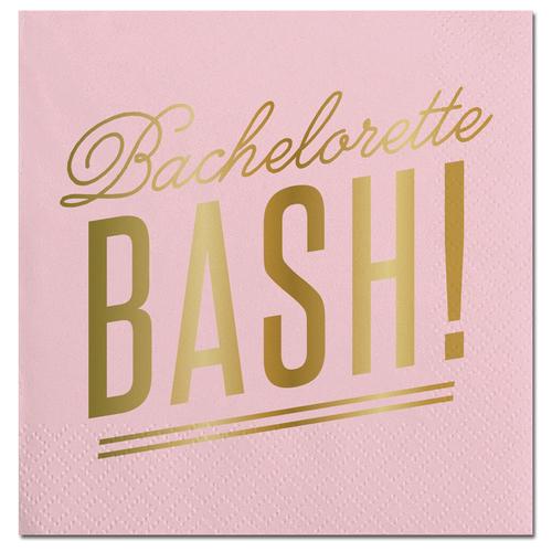 Bachelorette Bash Foil Napkin