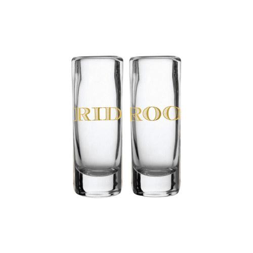 Bride/Groom Shot Glass
