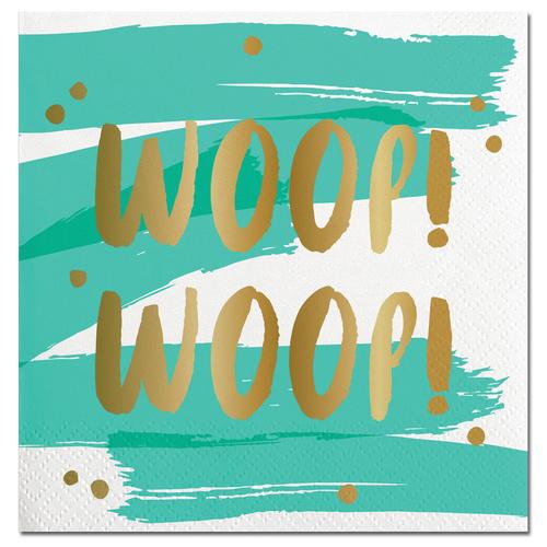 Woop Woop Foil Napkin
