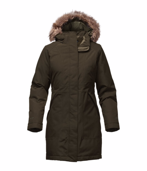 The North Face W Arctic Parka Rosin Green Heather By The