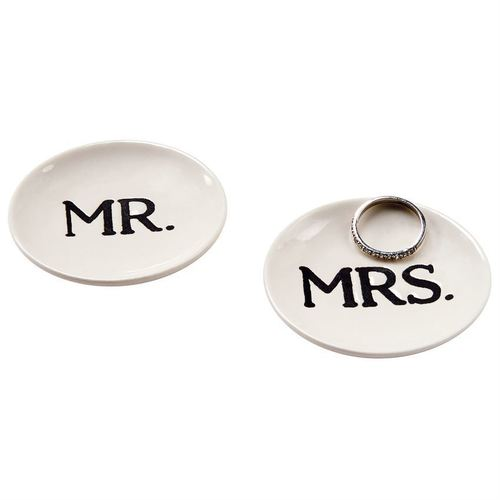 Mr. & Mrs. Boxed Plates