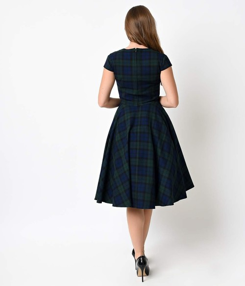 e9a6c4b3c25ba9 Hell Bunny Aberdeen 50's Style Tartan Dress By Hell Bunny | Rosie The Rebel  | Canada | Retro And Alternative Clothing, Shop In Store Or Buy Online