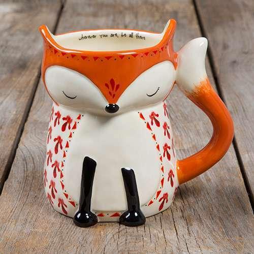 Fox Folk Critter Mug