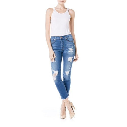 Riley High Rise Straight Jean