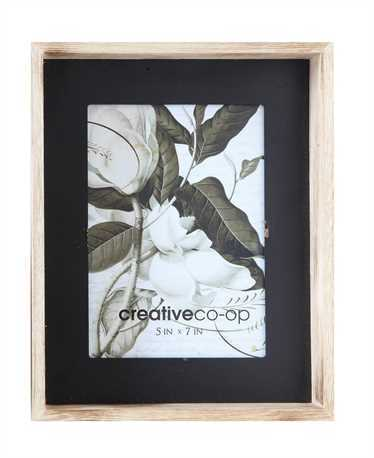 Wood & Black Frame- 5x7