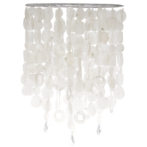 White Double Chandelier