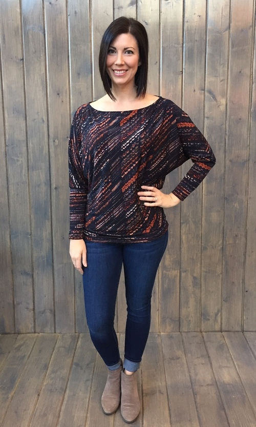 Jezebel Dolman Top