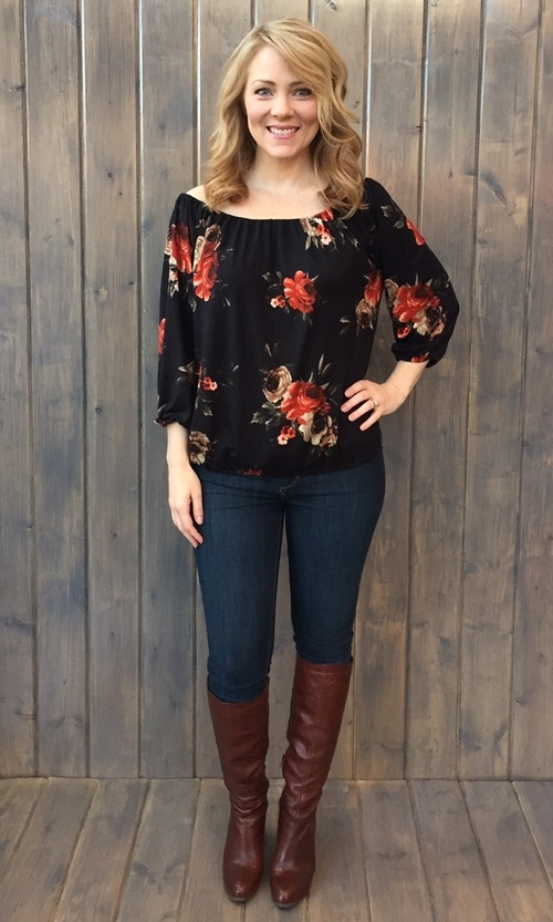 Allison Floral Blouse