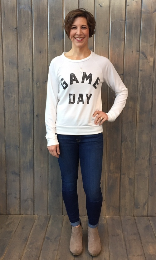 Game Day Pullover Sweater