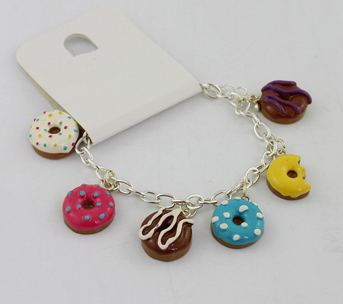 go nuts for Doughnuts Bracelet