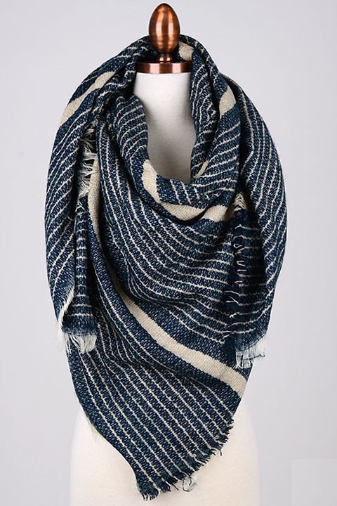 Riviera blanket scarf