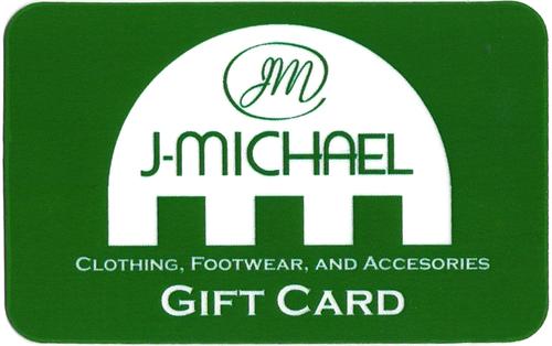 J Michael Gift Card