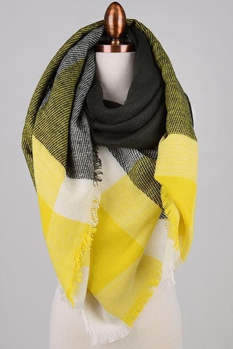Caroline blanket scarf