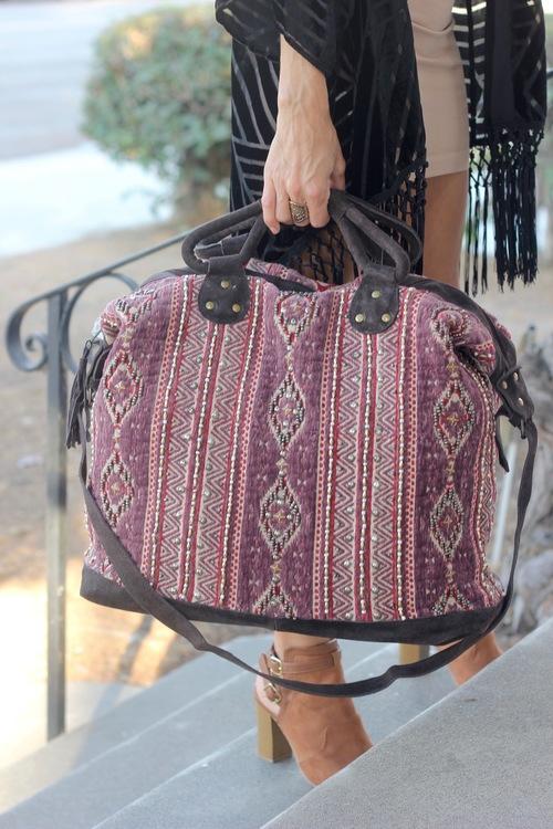 Multi Weekender Bag