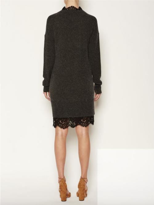 a9d59c7ab53 Lace Looker Sweater Dress By Brochu Walker