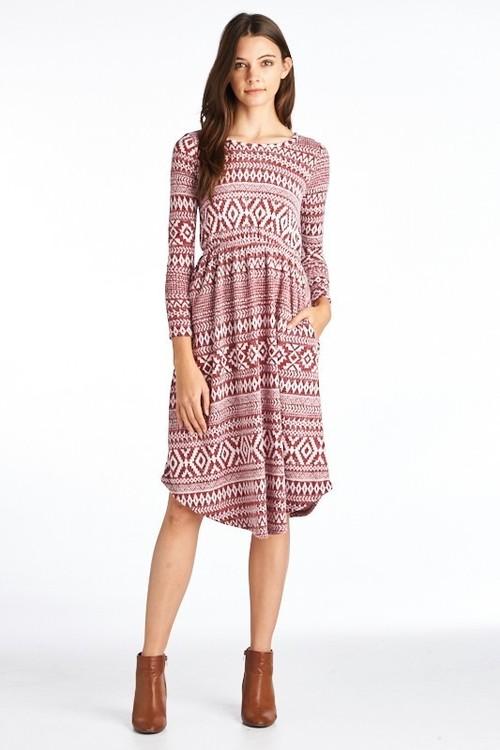Caroline sweater dress