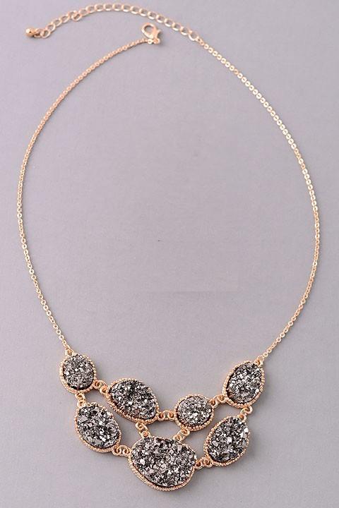 Sparkle & Shine statement necklace