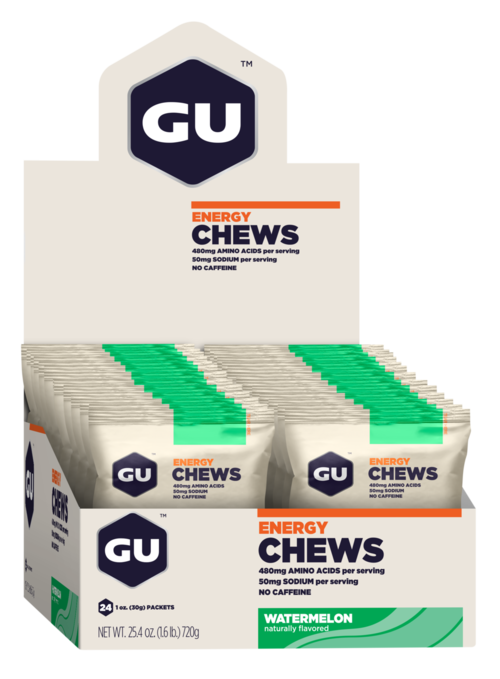 GU Chews (Box of 24)