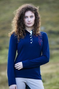 Cara Long Sleeve Polo